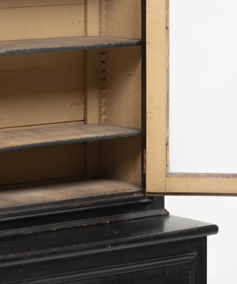 Napoleon III Pharmacy Cabinet, circa 1870 In Excellent Condition For Sale In Culver City, CA