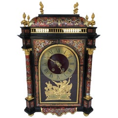 Napoleon III Style Boulle Marquetry Clock