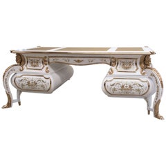 Napoleon III Style Magnificent Royal Desk