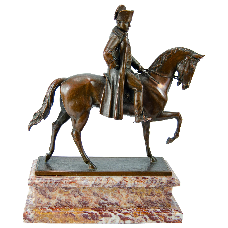 Napoleon on Horseback Sculpture
