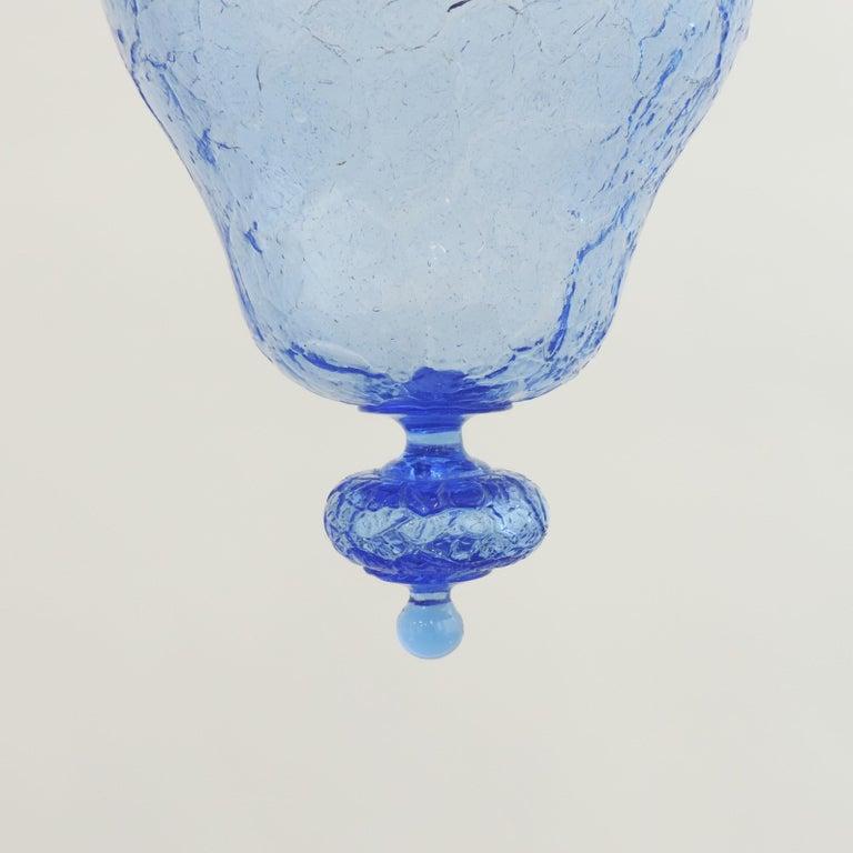 Napoleone Martinuzzi Murano Glass Pendant Lamp, Italy, 1920 For Sale 1