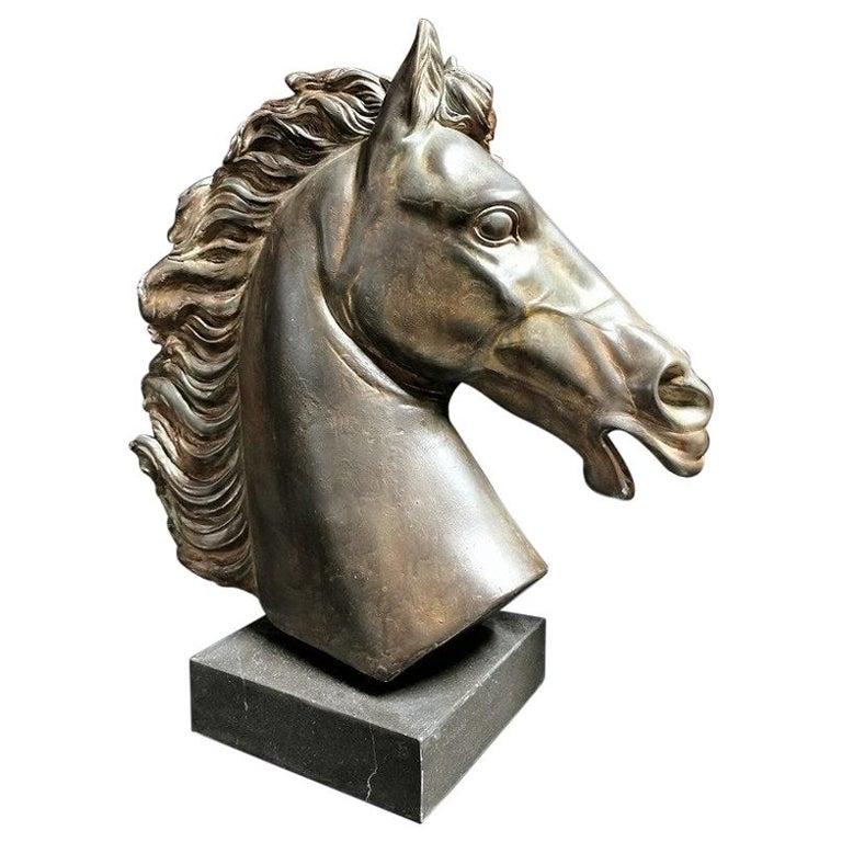 Napoleon's Horse Sculpture, France, 19th Century