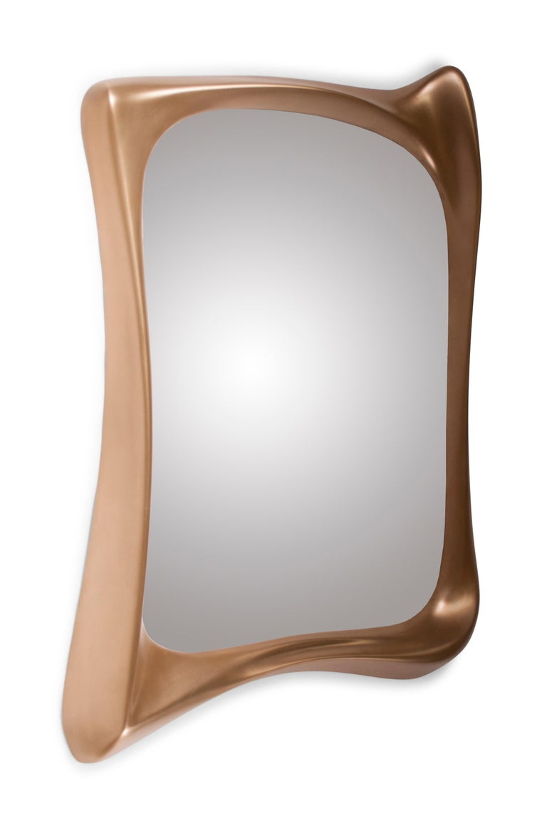Amorph Narcissus Mirror Gold Finish For Sale At 1stdibs