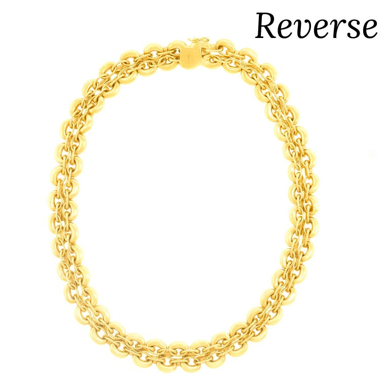 Nardi Gold Necklace For Sale 6