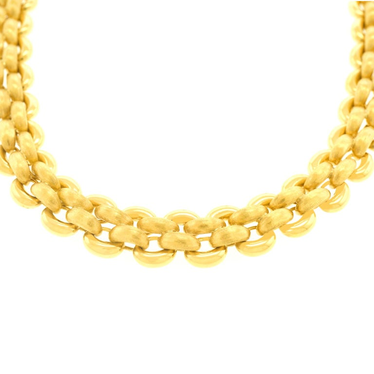 Nardi Gold Necklace For Sale 5