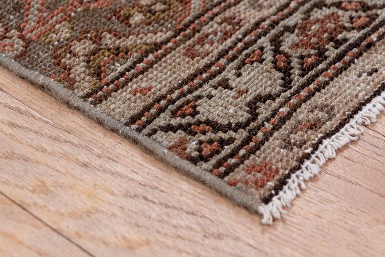 Wool Narrow Antique Hamadan Runner For Sale