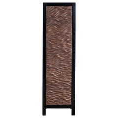 Narrow Cabinet with Gobi Design Single Door by Robert Kuo, Limited Edition