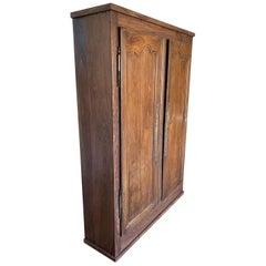 Narrow Depth Louis XV Style Armoire Storage Cupboard