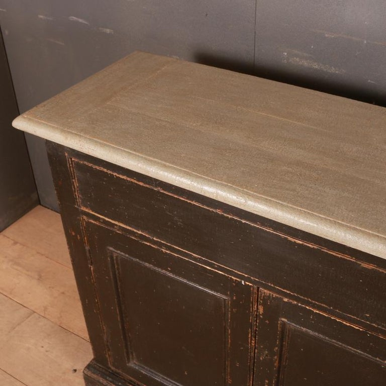 English Narrow Dresser Base For Sale