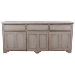 Narrow English Dresser Base