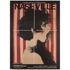 Nashville 1976 Polish A1 Film Movie Poster, Klimowski