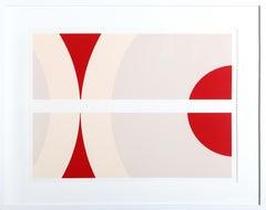 SS 12-78, Minimalist Silkscreen by Nassos Daphnis