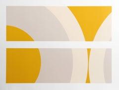 SS 7-78, Minimalist Screenprint by Nassos Daphnis