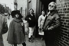 Andy Warhol´s Factory - Sussanah Campbell, Gerard, Butcher, and Andy Warhol