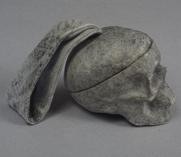 NATALIA BRILLI 2009 Surreal Skull Gothic Wristlet Bag For Sale 1