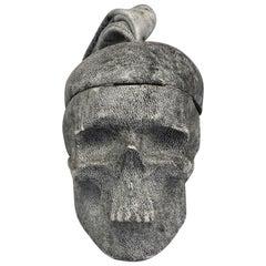 NATALIA BRILLI 2009 Surreal Skull Gothic Wristlet Bag