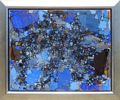 """Galaxie"" by Natalia Dumitresco, Oil on canvas, 1959"
