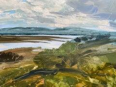 Natalie Bird, View of Loch Craignish, Original Landscape Painting, Art Online