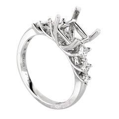 Natalie K Belle 14 Karat Gold Diamond Engagement Ring Mounting NAKAG13-082712