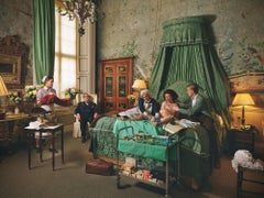 Royal Blood- Staged Photograph of Queen Elizabeth at Home Birth in Buckingham