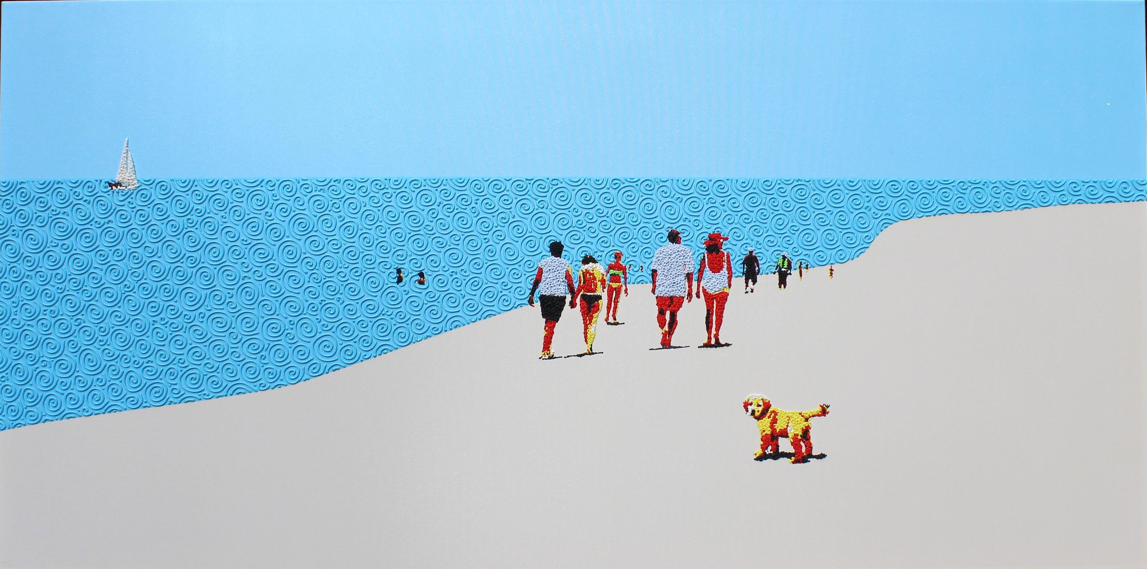 Beach mood 4 - landscape painting