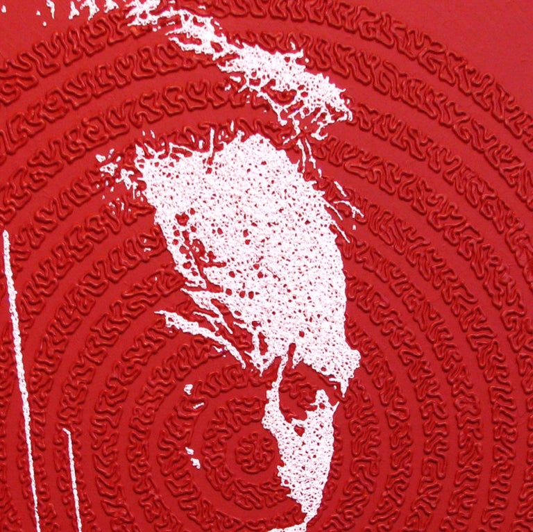Clint - portrait icon painting For Sale 2