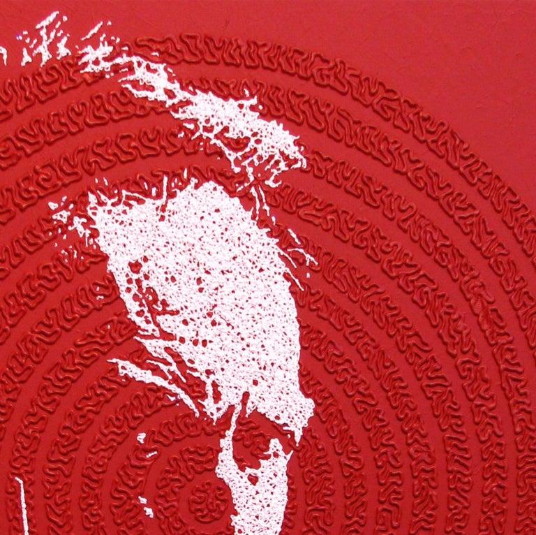 Clint - portrait icon painting For Sale 5