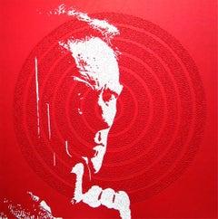 Clint - portrait pop art painting