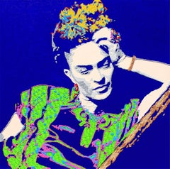 Frida Kahlo - acrylic portrait painting