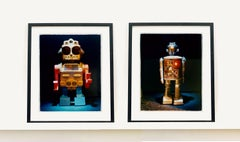 Pair of Robots - Pop Art Color Photography