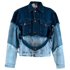 Natasha Zinko X Wrangler Layered Denim Jacket - Size US 2
