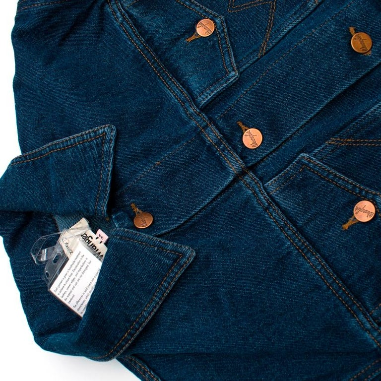 Natasha Zinko X Wrangler Layered Denim Jacket XXS 6  For Sale 1