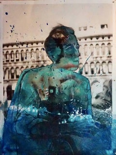 """Cocteau Aqua Atla, #2235"", Photo collage, 2018"