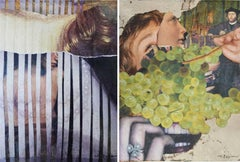 Eternal Recurrence #15, and #17, Photo Collage Set