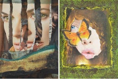Eternal Recurrence #9, and #5, Photo Collage Set
