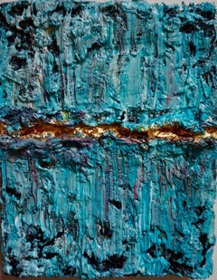 Tactile memory #18 One of a kind, Mixed media on canvas