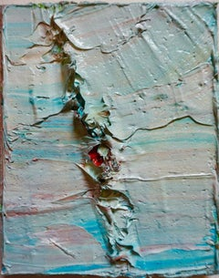 Tactile memory #21 One of a kind, Mixed media on canvas