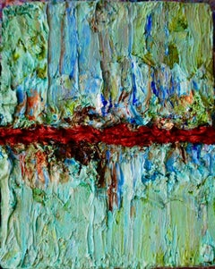 Tactile memory #31 One of a kind, Mixed media on canvas
