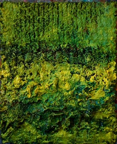 Tactile memory #33 One of a kind, Mixed media on canvas