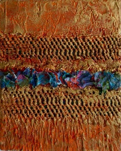 Tactile memory #5 One of a kind, Mixed media on canvas
