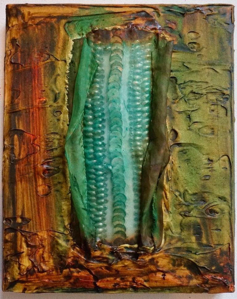 Tactile memory #63 One of a kind, Mixed media on canvas. - Mixed Media Art by Natasha Zupan