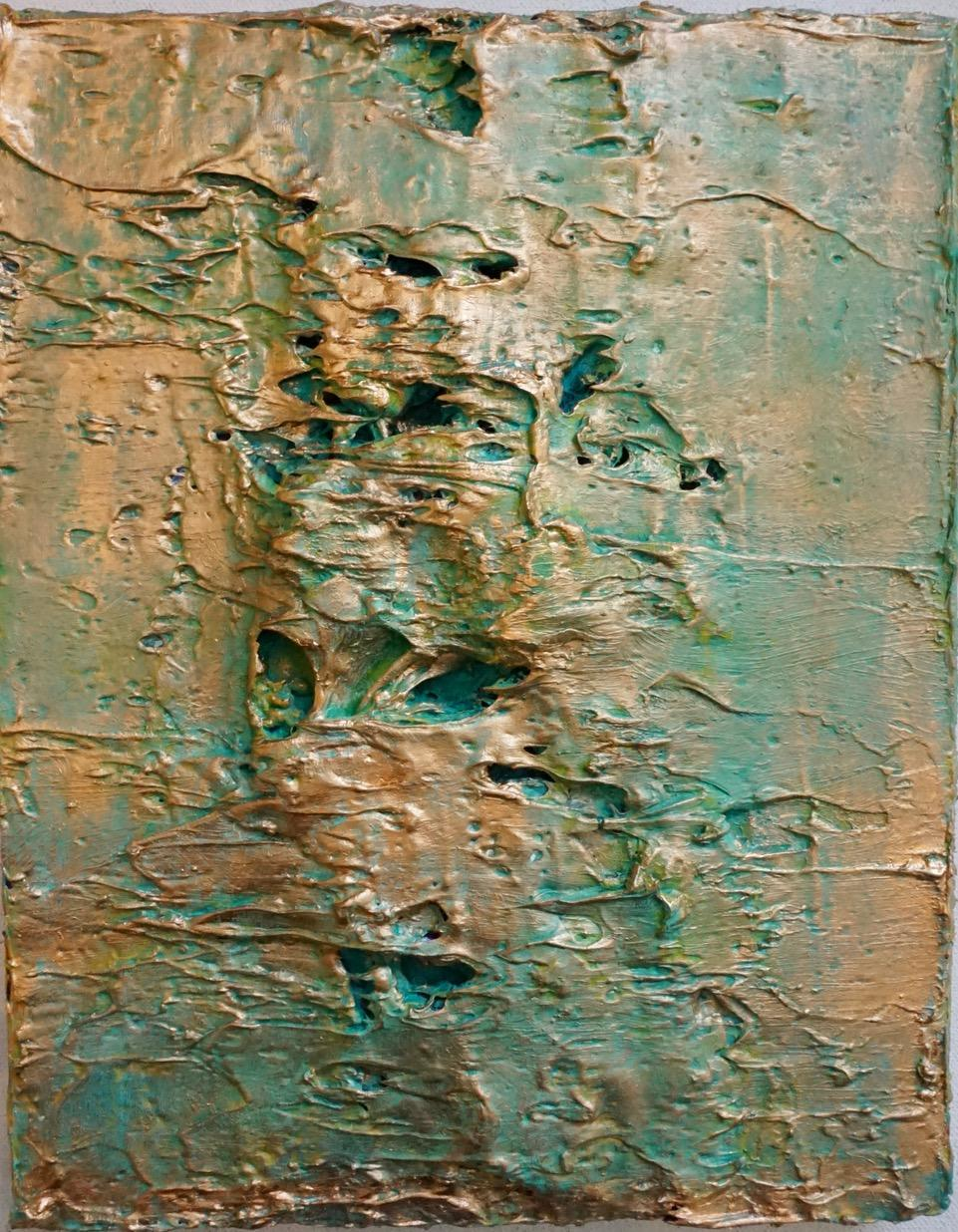 Tactile memory #68 One of a kind, Acrylic and oil on canvas