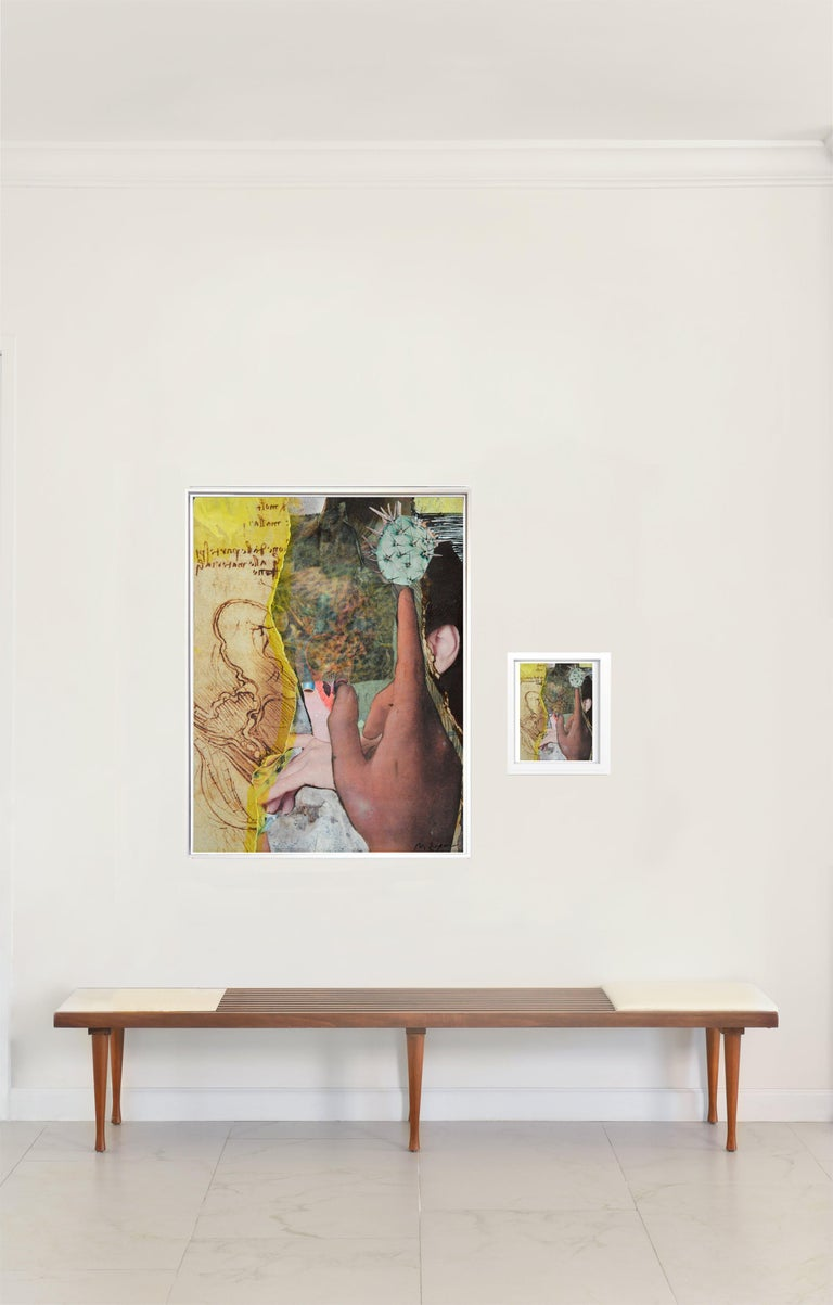 """Natasha Zupan Color Photograph - """"Eternal Recurrence #13"""" Diptych, 2015/18 Large photographic print and collage"""