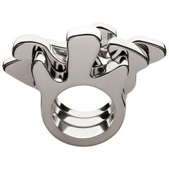 Nathalie Jean Contemporary Limited Edition Sterling Silver Ring