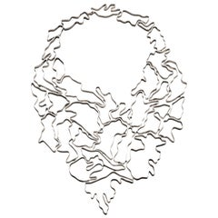 Nathalie Jean Contemporary Sterling Silver Limited Edition Drop Link Necklace