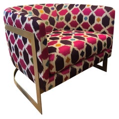 Nathan Anthony Korz Chair by Tina Nicole and Kravet Fabric