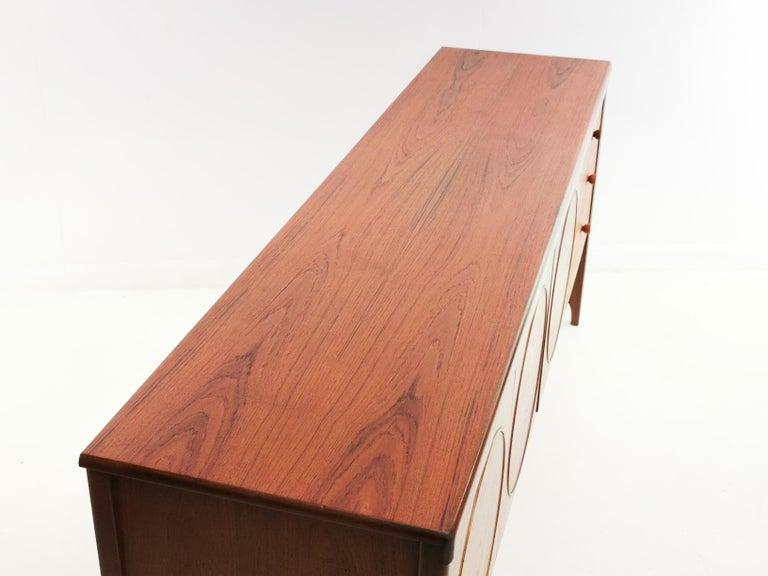 Nathan Circles Midcentury Teak Sideboard 1960s-1970s Vintage 1