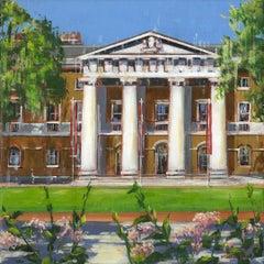 Duke of York HQ -  City London landscape painting contemporary 21st