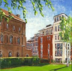 Kings Chelsea -  City London landscape painting contemporary 21st