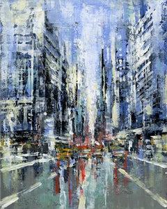 Manhattan 1 - US original City Landscape cityscape painting Contemporary Art